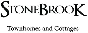StoneBrook Townhomes and Cottages Logo